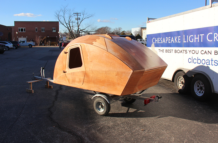 Build An Ultra Lightweight Teardrop Trailer With This Kit From A Boat ...