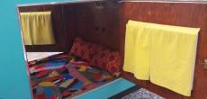1950 DIY Teardrop Classic Painted In Dreamy Teal