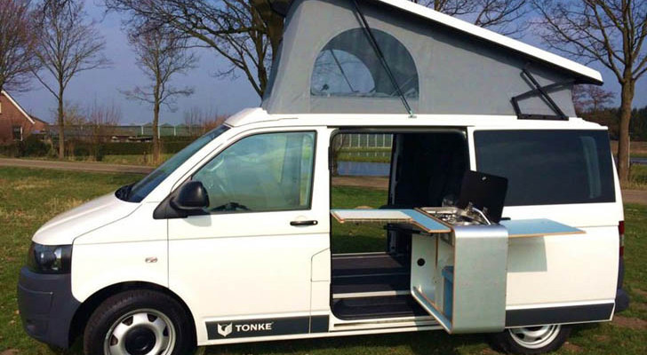 The Volkswagen T6 Makes A Solid Platform For This Tonke-Built Camper