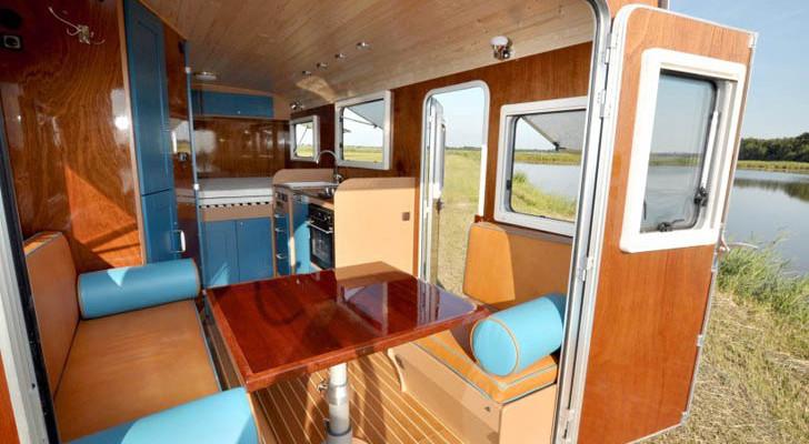 The Dutch-Built Tonke Fieldsleeper International Is A Beautiful Machine
