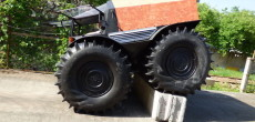 Tank-Like Russian ATV With Self-Inflating Tires That Won't Break The Bank