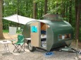 Full Time Living In A Teardrop Trailer And Some Cool DIY Tricks To Go With It