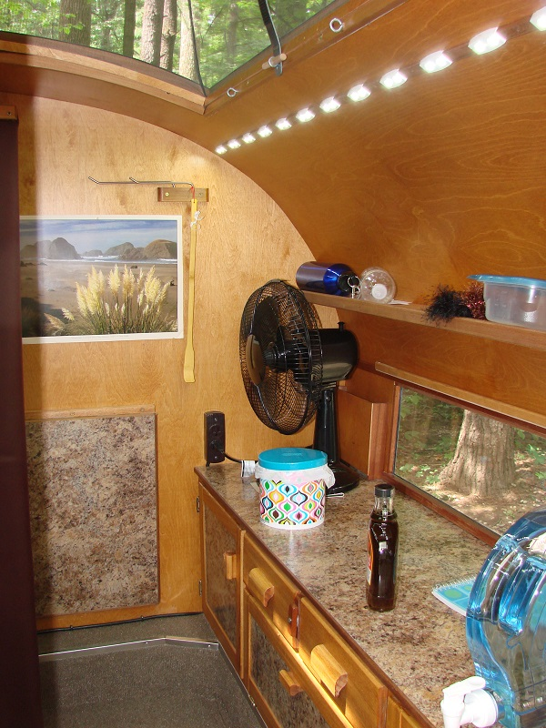 Full Time Living In A Teardrop Trailer With Diy Tips