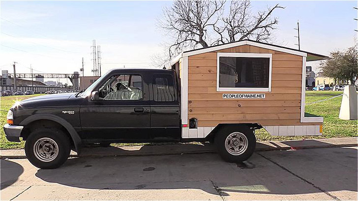 He Simplified His Life To Fit In A Diy 500 Ford Ranger Camper