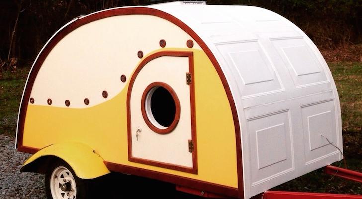 Hodgepodge DIY Teardrop Stuns With Creative Twists On A Familiar Footprint