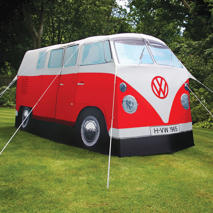These Volkswagen Camper Van Tents Look Amazingly Life Like