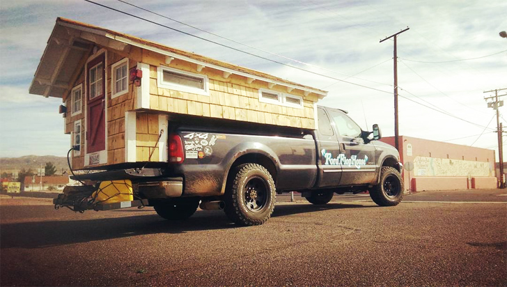 Ford Flophouse A Custom Truck Camper Built New England Style