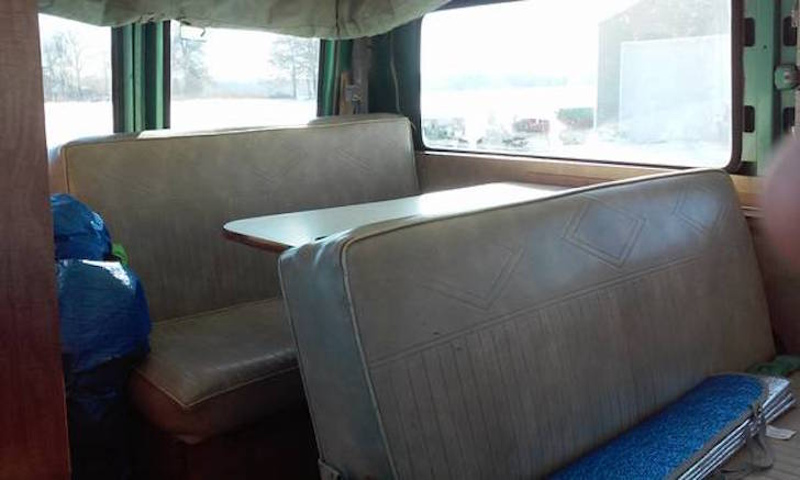 Not A Volkswagen 1968 Chevy Pop Top Camper
