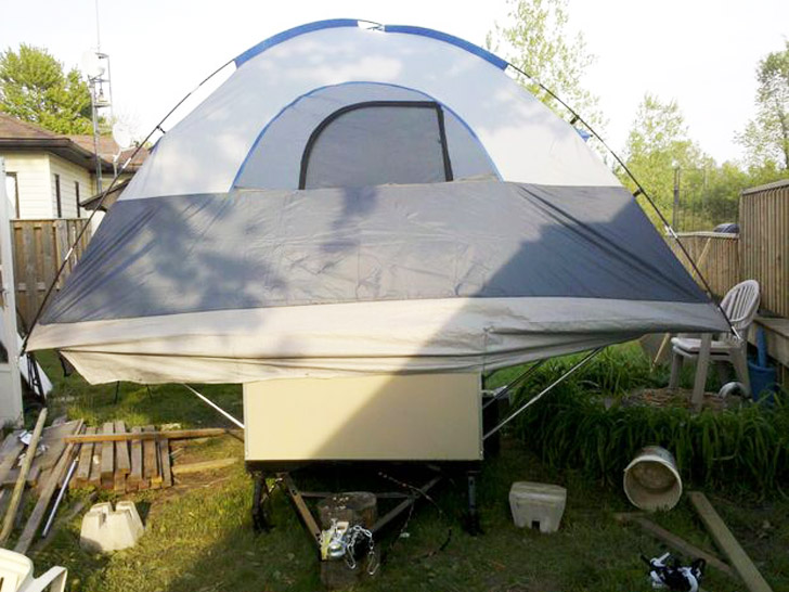 Diy Tent Camper That Can Fit Any Budget