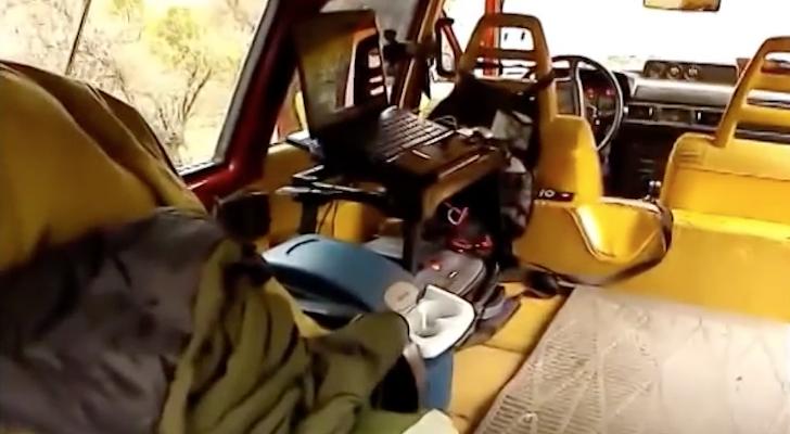 Revealed – 1979 Volvo 245 DL Stealth Camper Car [VIDEO]