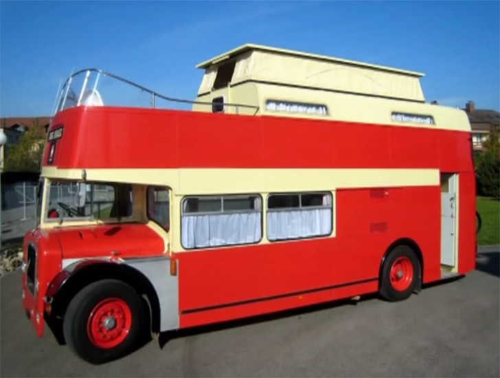 Want To See A Cool Double Decker Bus Conversion