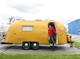 Tour Wally And Stella Byam's Gold Airstream
