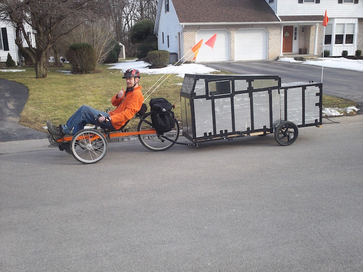 pedal powered trike camper and bicycle camper Car Pictures