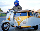 The Coolest Dad Ever Built This Volkswagen Sidecar To Drive His Son Around In