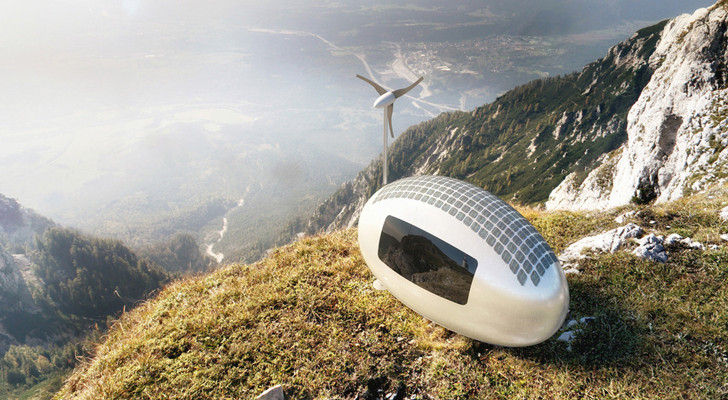This Eco-Friendly Egg Capsule Lets You Live Anywhere You Want In The World