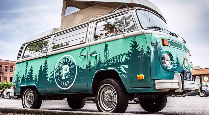 Portland Gear Westfalia With Scenic City Wrap