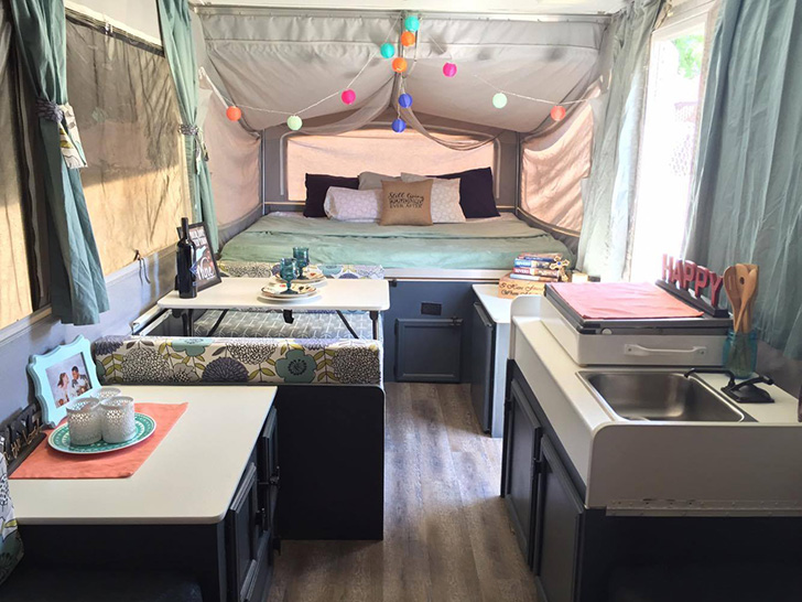 Redecorate A Pop Up Trailer To Glam Perfection