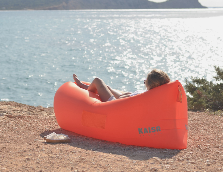 Kaisr Inflatable Sofas From Indiegogo