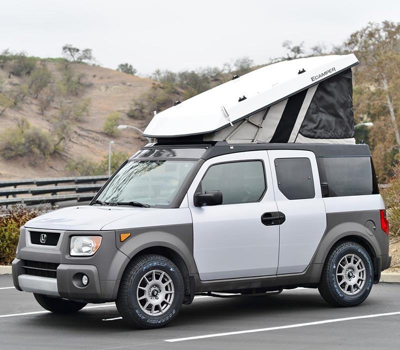 Honda Element Camper >> Turn A Honda Element Or Jeep Into A Popup Camper