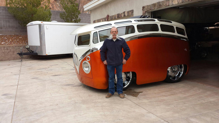 The Quot Surf Seeker Quot Custom Volkswagen Bus Looks Like A