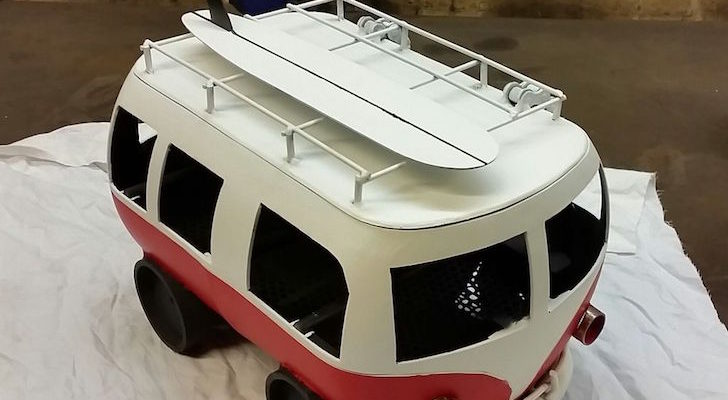 He Turned A 7 Kg Gas Bottle Into This Camper Van BBQ Grill