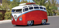 "Meet The ""Surf Seeker"": This Custom Bus Looks Like It Came Straight Out Of A Cartoon"