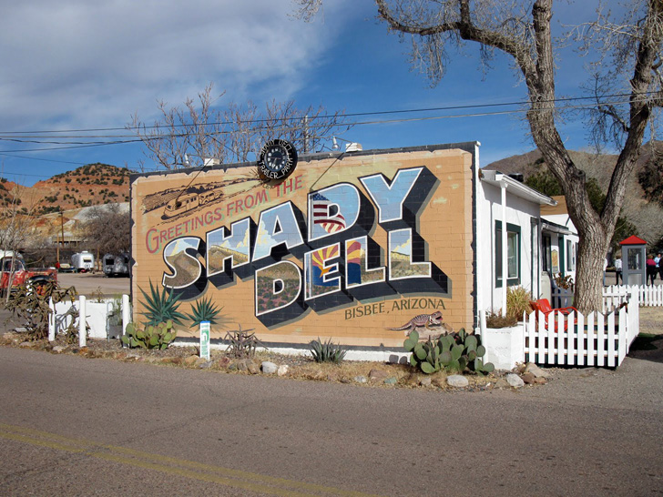 The Shady Dell Vintage Trailers Rv Park In Bisbee Arizona