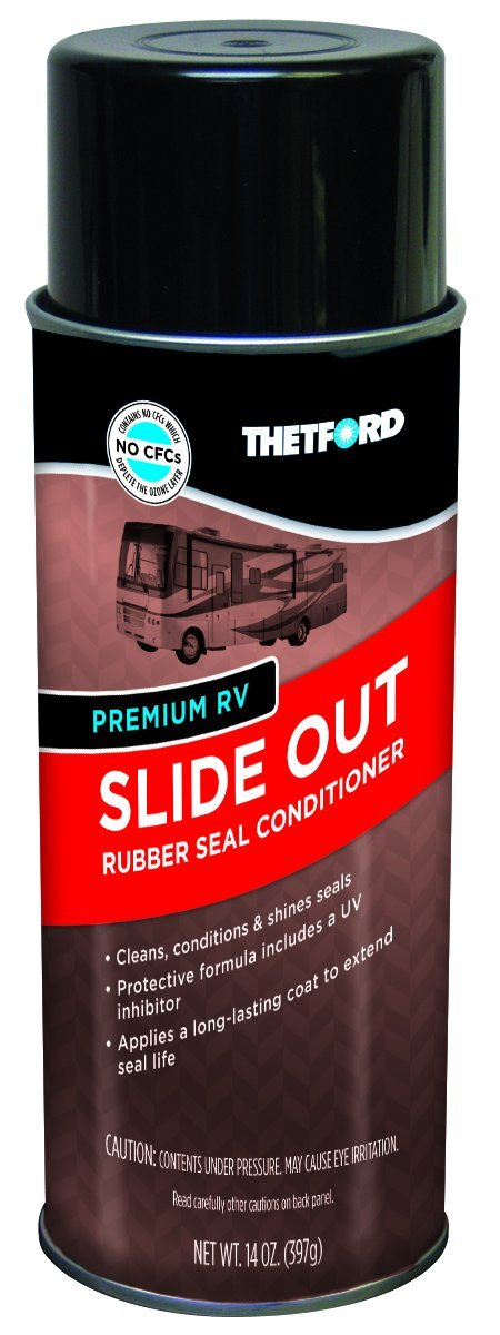 Use Rv Slide Out Seal Conditioner To Maintain Rubber Slide
